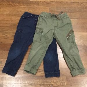 Baby Gap Boys set of 2 Cargo Pants 3 yrs